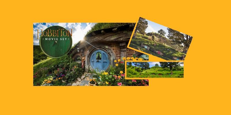 Dans le village des Hobbits! Nouvelle-Zélande